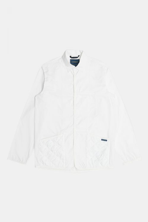 QUILT POCKET LONG SLEEVE SHIRT