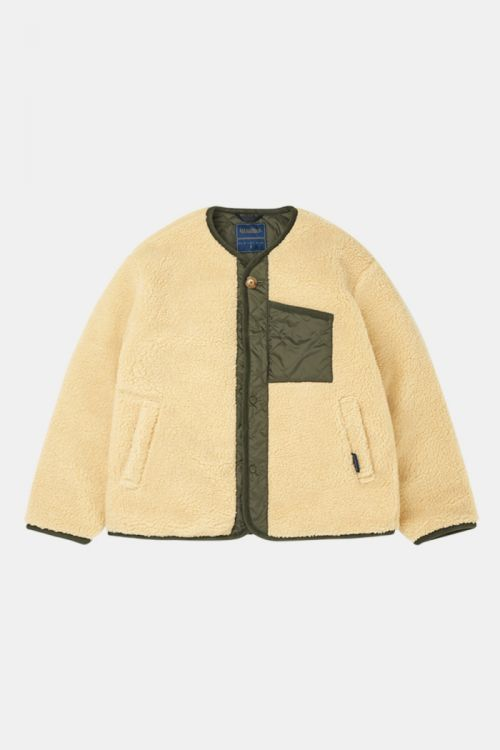 LAVENHAM EXCLUSIVE - CHEST POCKET SHERPA JACKET