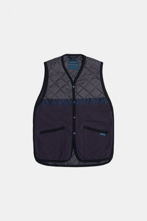 JERSEY TAPED GILET