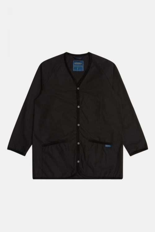 DRY WAX COLLARLESS JACKET