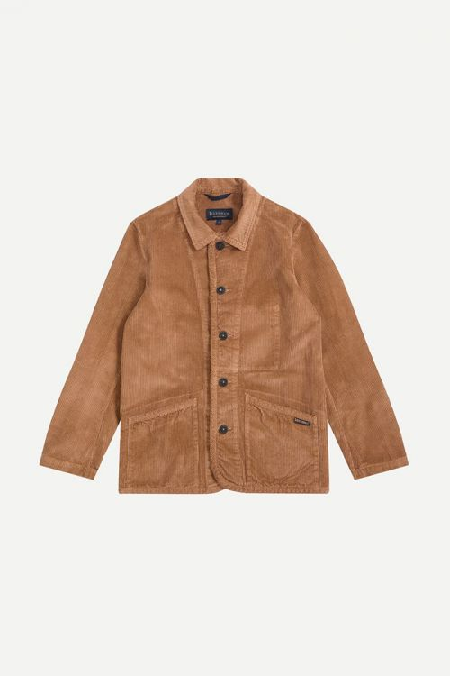 WASHED CORD WORKER JACKET