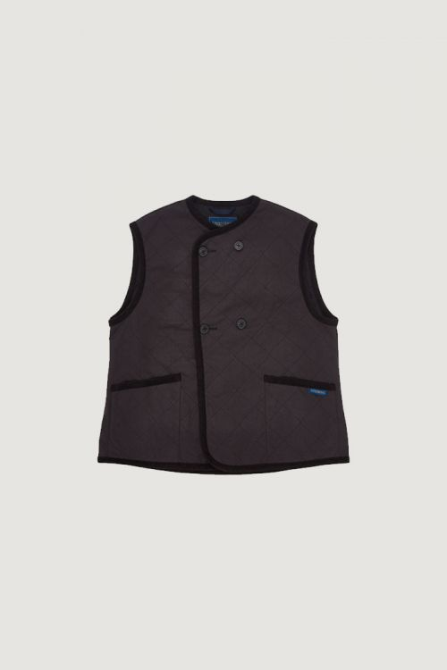 DOUBLE BREASTED GILET